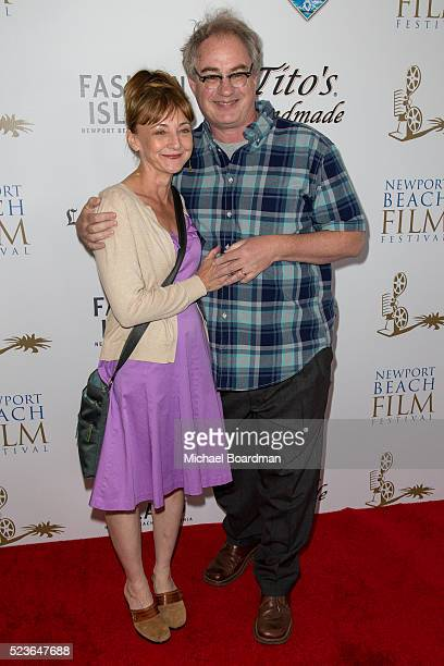 Actress Bonita Friedericy and Actor John Billingsley attends the 17th Annual Newport Beach Film Festival Honors Reception 2016 at The Balboa Bay Club...