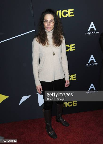 Actress Bonnie Aarons arrives for Annapurna Pictures Gary Sanchez Productions And Plan B Entertainment's World Premiere Of 'Vice' held at AMPAS...