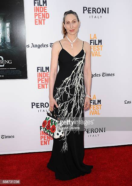 Actress Bonnie Aarons attends the premiere of The Conjuring 2 at the 2016 Los Angeles Film Festival at TCL Chinese Theatre IMAX on June 7 2016 in...