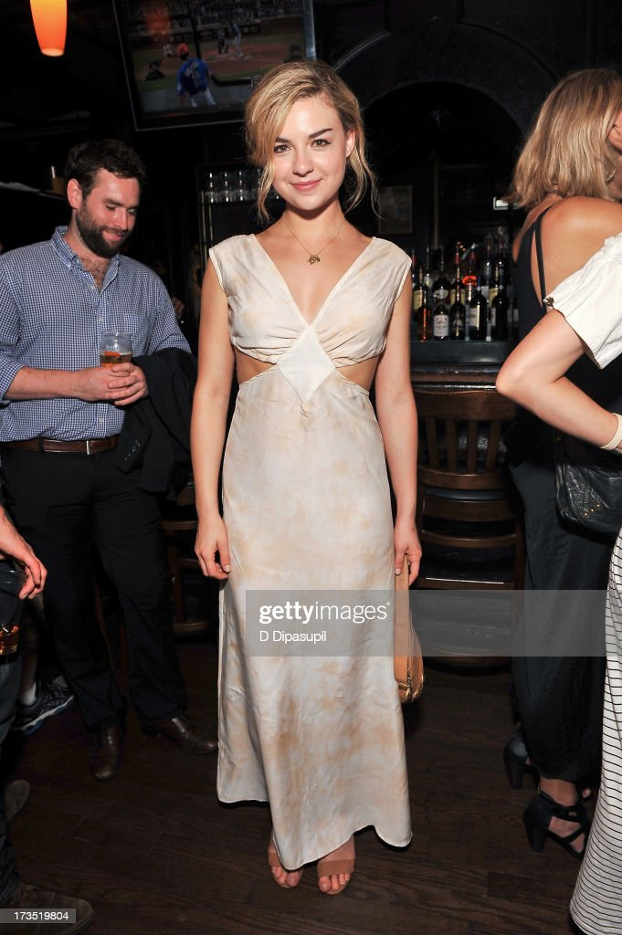 Actress Bonnie Dennison attends the Glass Eye Pix 'Beneath' Premiere Event - After Party at Oliver's City Tavern on July 15, 2013 in New York City.