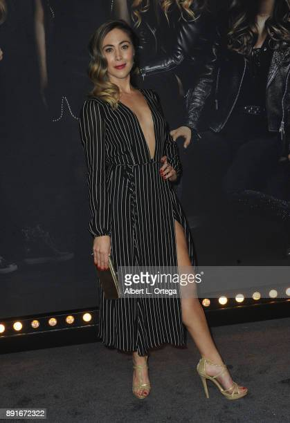 Actress Bonnie Kathleen Ryan arrives for the Premiere Of Universal Pictures' 'Pitch Perfect 3' held at The Dolby Theater on December 12 2017 in...