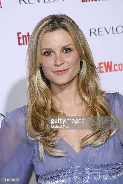 Actress Bonnie Somerville arrives at the Entertainment Weekly's 5th Annual PreEmmy Party at Opera and Crimson on September 15 2007 in Hollywood...