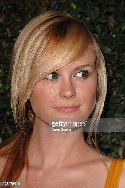 Actress Bonnie Somerville arrives to The Art of Elysium 10th Anniversary Gala at Vibiana on January 12, 2008 in Los Angeles, California.