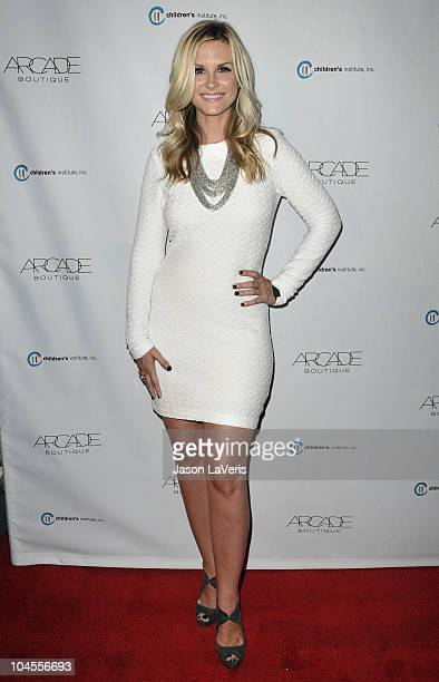 Actress Bonnie Somerville attends the Autumn Party benefiting Children's Institute at The London Hotel on September 29, 2010 in West Hollywood,...