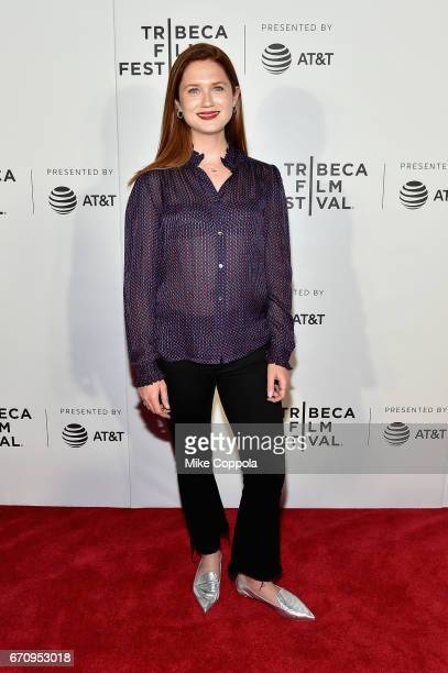 Actress Bonnie Wright attends the Tribeca NOW Showcase B at Regal Cinema Battery Park on April 20 2017 in New York City