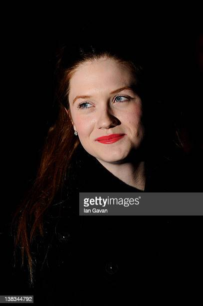 Actress Bonny Wright attends the London Evening Standard British Film Awards 2012 at the London Film Museum on February 6 2012 in London England
