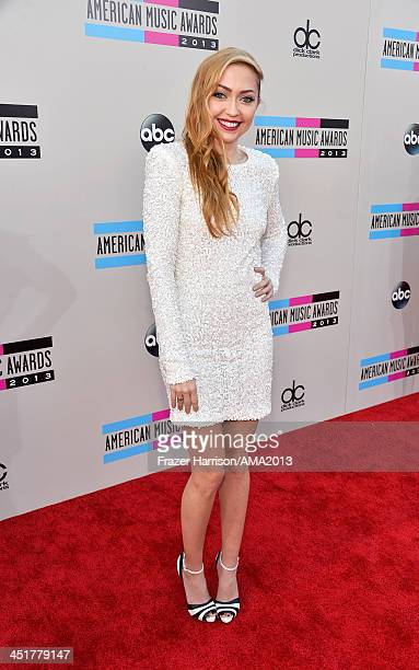 Actress Brandi Cyrus attends 2013 American Music Awards at Nokia Theatre LA Live on November 24 2013 in Los Angeles California
