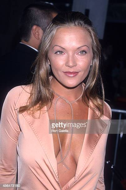 Actress Brandy Ledford attends the Rat Race Century City Premiere on July 30 2001 at Loews Cineplex Century Plaza Theatres in Century City California