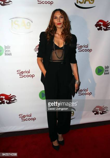 Actress Brandy Redd attends the 9th Annual Indie Series Awards at The Colony Theatre on April 4 2018 in Burbank California