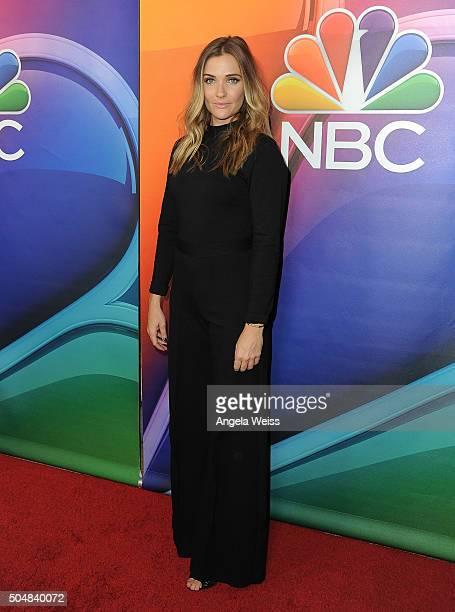 Actress Bre Blair arrives at the 2016 Winter TCA Tour - NBCUniversal Press Tour at Langham Hotel on January 13, 2016 in Pasadena, California.