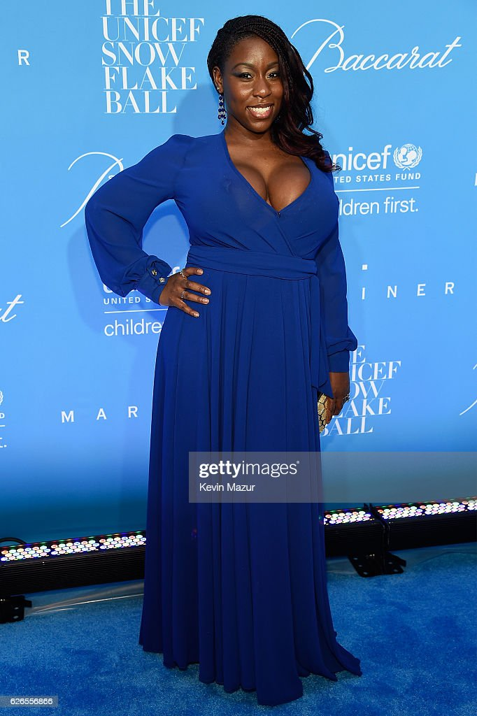 Actress Bre Jackson attends the 12th annual UNICEF Snowflake Ball at Cipriani Wall Street on November 29, 2016 in New York City.
