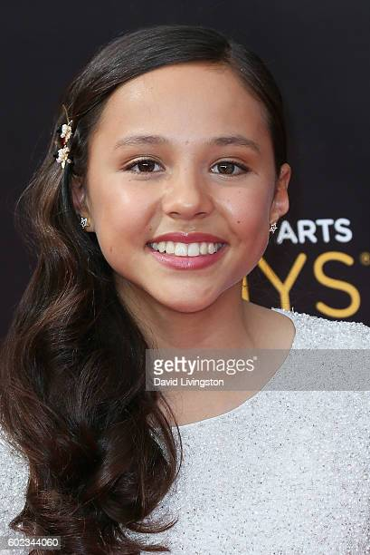 Actress Breanna Yde attends the 2016 Creative Arts Emmy Awards Day 1 at the Microsoft Theater on September 10 2016 in Los Angeles California