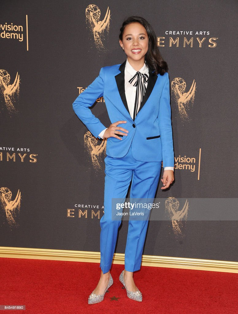 Actress Breanna Yde attends the 2017 Creative Arts Emmy Awards at Microsoft Theater on September 10, 2017 in Los Angeles, California.