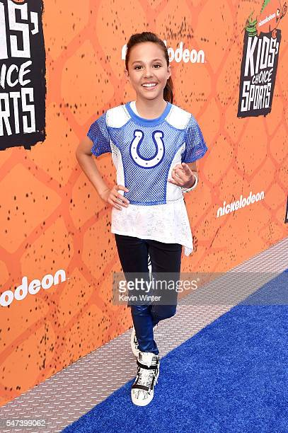 Actress Breanna Yde attends the Nickelodeon Kids' Choice Sports Awards 2016 at UCLA's Pauley Pavilion on July 14 2016 in Westwood California