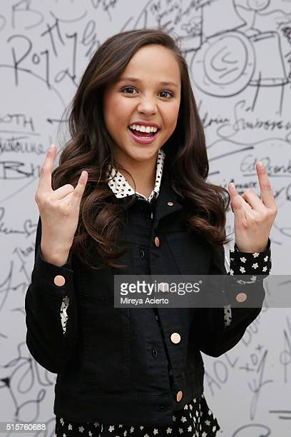 Actress Breanna Yde discusses the television show 'School Of Rock' at AOL Studios in New York on March 15 2016 in New York City
