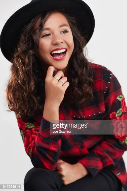 Actress Breanna Yde poses for a portrait on January 16 2018 in Los Angeles California