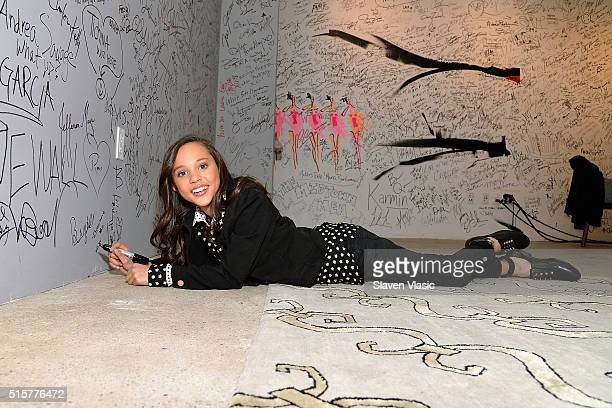 Actress Breanna Yde visits AOL Build Speaker Series to discuss her new Nickelodeon series School of RockÓ at AOL Studios In New York on March 15 2016...