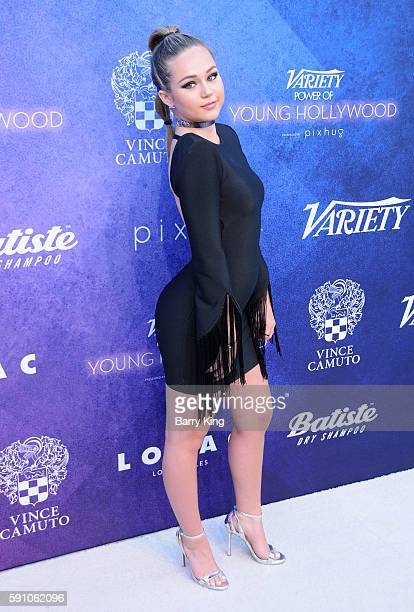 Actress Brec Bassinger attends Variety's Power of Young Hollywood event presented by Pixhug with platinum sponsor Vince Camuto at NeueHouse Hollywood...