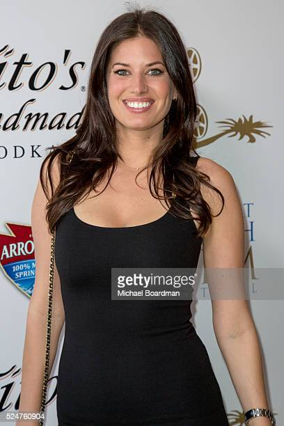 Actress Bree Condon attends the 17th Annual Newport Beach Film Festival premiere of Stevie D at Island Cinema on April 26 2016 in Newport Beach...