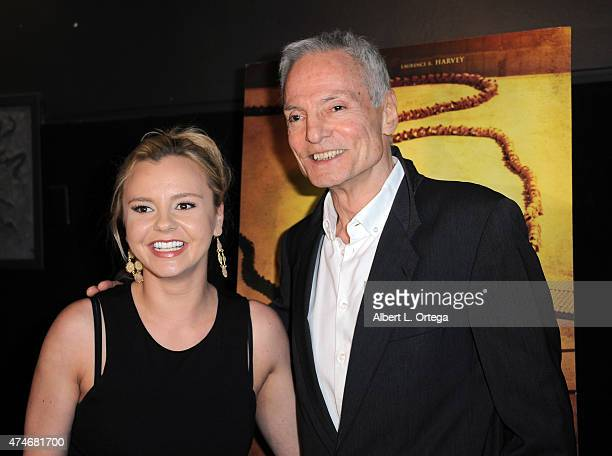 Actress Bree Olson and actor Dieter Laser arrive for the Premiere Of IFC Midnight's The Human Centepede 3 held at TCL Chinese 6 Theatres on May 18...