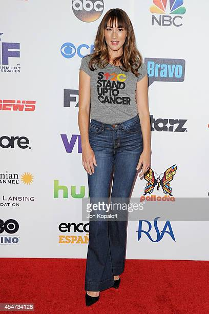 Actress Bree Turner arrives at Hollywood Unites For The 4th Biennial Stand Up To Cancer A Program Of The Entertainment Industry Foundation at Dolby...
