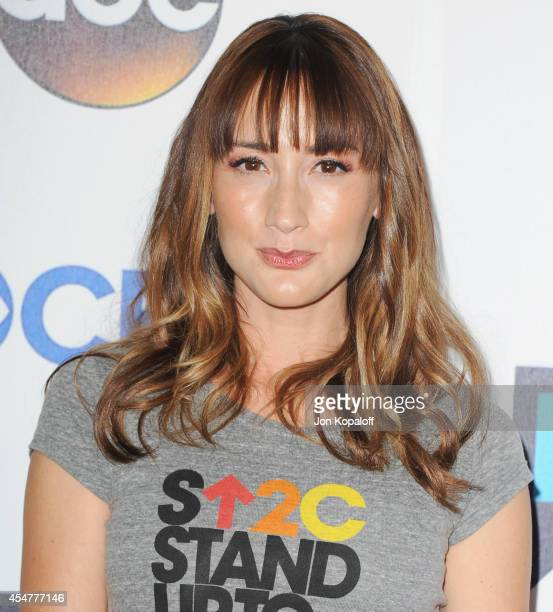 Actress Bree Turner arrives at Hollywood Unites For The 4th Biennial Stand Up To Cancer , A Program Of The Entertainment Industry Foundation at Dolby...