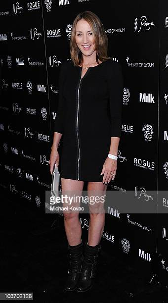 Actress Bree Turner arrives at The Art of Elysium's 2nd Annual Genesis Awards at Milk Studios on August 28 2010 in Hollywood California