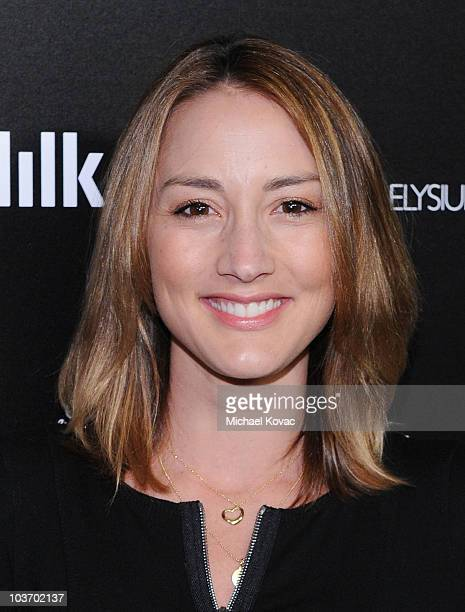 Actress Bree Turner arrives at The Art of Elysium's 2nd Annual Genesis Awards at Milk Studios on August 28, 2010 in Hollywood, California.
