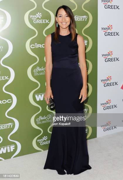 Actress Bree Turner arrives at the Variety And Women In Film PreEmmy Party at Scarpetta on September 20 2013 in Beverly Hills California