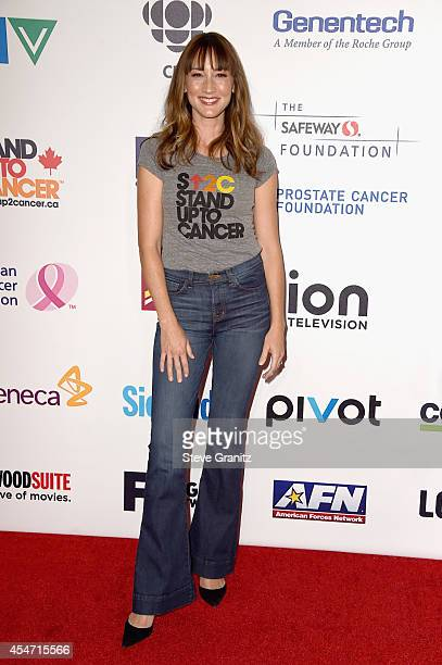Actress Bree Turner attends the 4th Biennial Stand Up To Cancer A Program of The Entertainment Industry Foundation at Dolby Theatre on September 5...