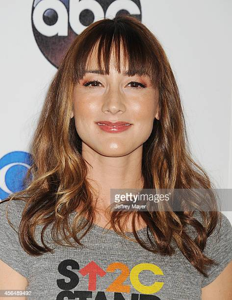 Actress Bree Turner attends the 4th Biennial Stand Up To Cancer , A Program of The Entertainment Industry Foundation , at Dolby Theatre on September...