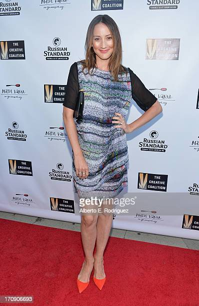 Actress Bree Turner attends The Creative Coalition's 2013 Summer Soiree at Mari Vanna Los Angeles on June 19 2013 in West Hollywood California