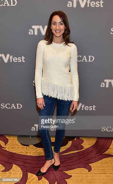 Actress Bree Turner attends the 'Grimm' event during aTVfest 2016 presented by SCAD on February 7 2016 in Atlanta Georgia