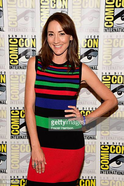 Actress Bree Turner attends the 'Grimm' press line during ComicCon International on July 23 2016 in San Diego California