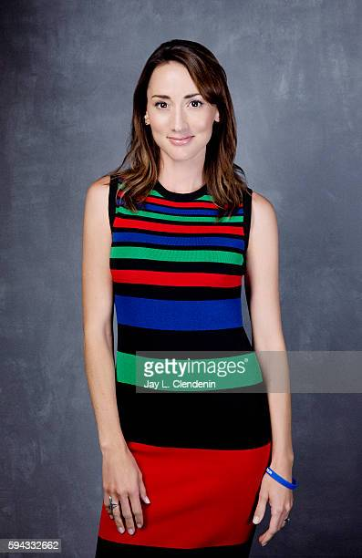 Actress Bree Turner of 'Grimm' is photographed for Los Angeles Times at San Diego Comic Con on July 22 2016 in San Diego California