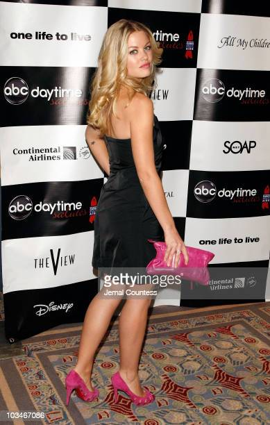 Actress Bree Williamson attends the 4th Annual ABC Daytime Salutes Broadway Cares / Equity Fights Aids Benefit at the Marriott Marquis on March 2...