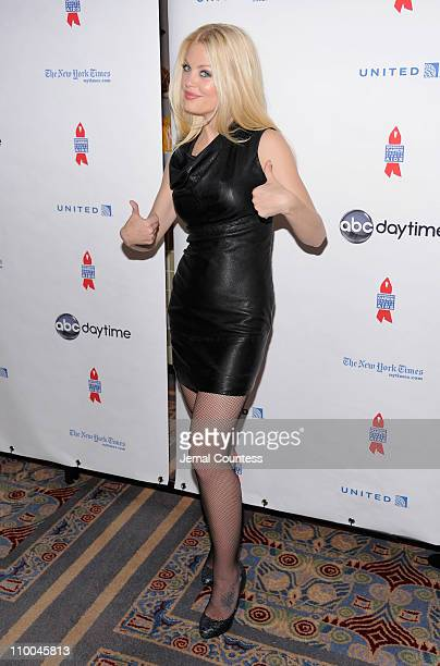 Actress Bree Williamson attends the 7th Annual ABC SOAPnet Salute Broadway Cares/Equity Fights Aids Benefit closing celebration at The New York...
