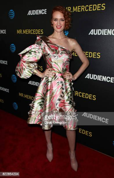 Actress Breeda Wool attends a screening of ATT Audience Network's Mr Mercedes at The Beverly Hilton Hotel on July 25 2017 in Beverly Hills California