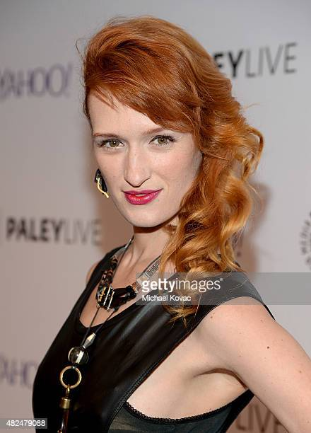 Actress Breeda Wool attends Paley Live An Evening With Lifetime's 'UnREAL' on July 30 2015 in Los Angeles California