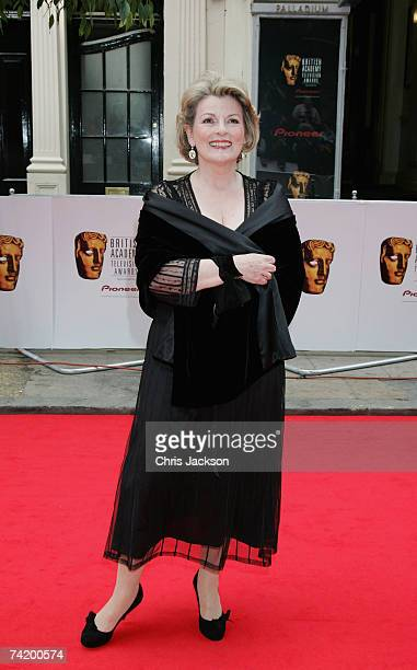 Actress Brenda Blethyn arrives at The British Academy Television Awards sponsored by Pioneer in 2007 held at the London Palladium on May 20 2007 in...