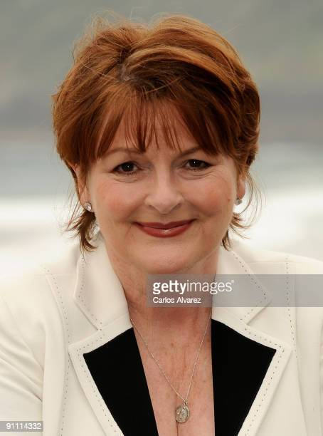 "Actress Brenda Blethyn attends ""London River"" photocall at the Kursaal Palace during the 57th San Sebastian International Film Festival on September..."