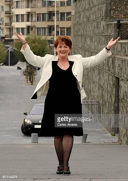 Actress Brenda Blethyn attends 'London River' photocall at the Kursaal Palace during the 57th San Sebastian International Film Festival on September...