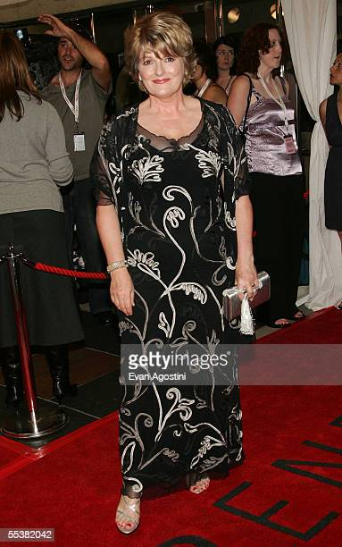 Actress Brenda Blethyn attends the gala premiere of Pride Prejudice at Roy Thomson Hall during the Toronto International Film Festival on September...