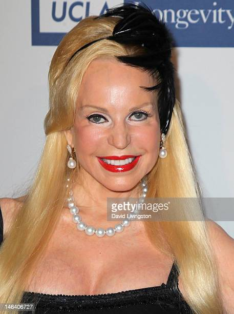 Actress Brenda Dickson attends the UCLA Longevity Center's 2012 ICON Awards at the Beverly Hills Hotel on June 6 2012 in Beverly Hills California