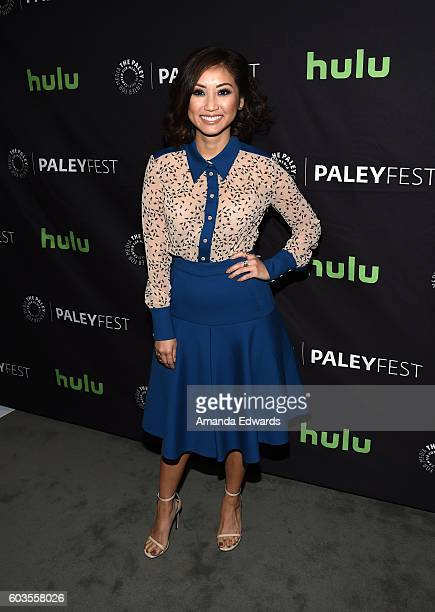 Actress Brenda Song arrives at The Paley Center for Media's PaleyFest 2016 Fall TV Preview for CBS at The Paley Center for Media on September 12,...
