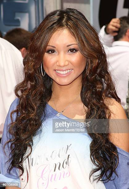 Actress Brenda Song arrives at the Walt Disney Pictures' premiere for the animated feature film GForce at the El Capitan Theatre July 19 2009 in Los...