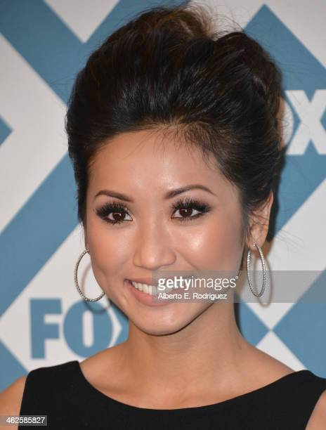 Actress Brenda Song arrives to the 2014 Fox All-Star Party at the Langham Hotel on January 13, 2014 in Pasadena, California.