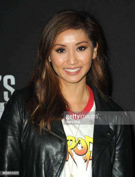Actress Brenda Song attends Knott's Scary Farm and Instagram Celebrity Night at Knott's Berry Farm on September 29 2017 in Buena Park California