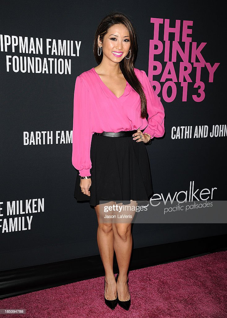 Actress Brenda Song attends the 2013 Pink Party at Hangar 8 on October 19, 2013 in Santa Monica, California.