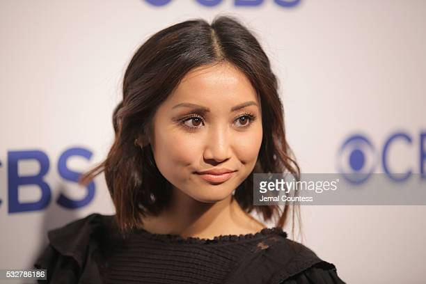 Actress Brenda Song attends the 2016 CBS Upfront at The Plaza on May 18 2016 in New York City